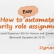 Easy automatic role assignment