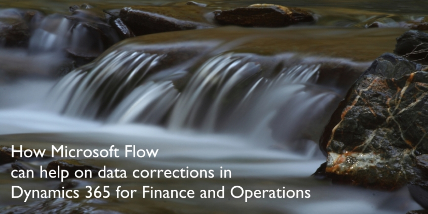 Microsoft Flow data correction