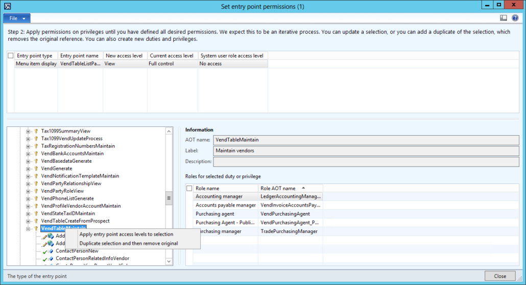 Tips on AX 2012 Security Development Tool - Part 2