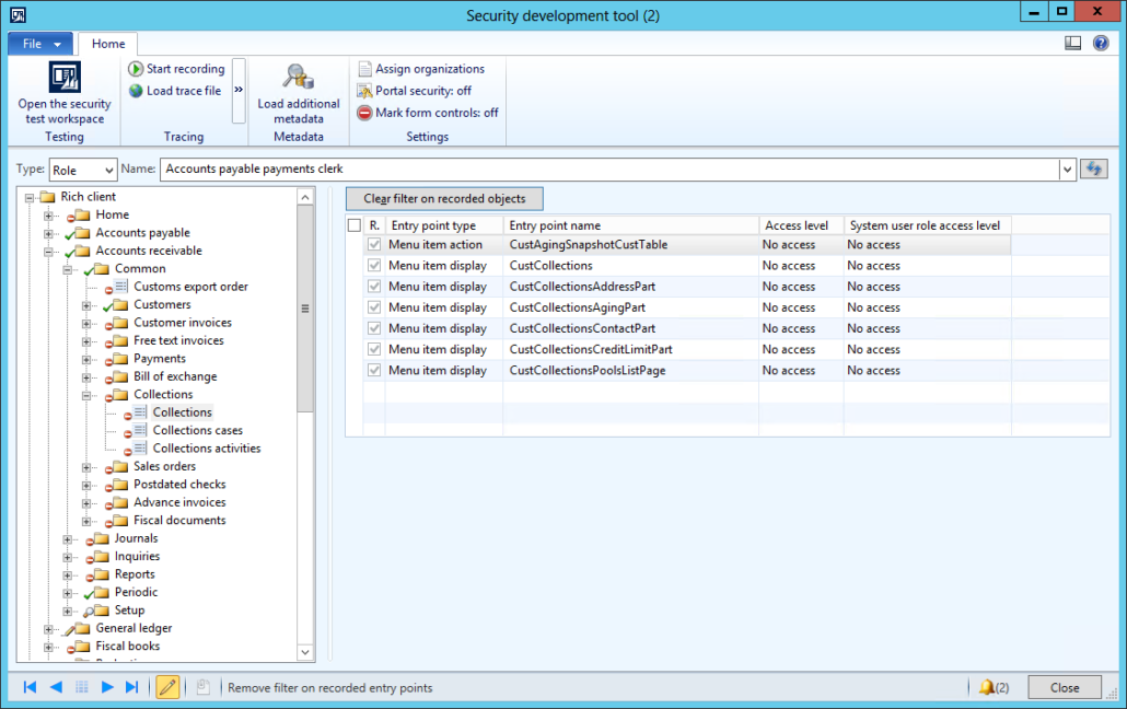 Tips on AX 2012 Security Development Tool - Part 3