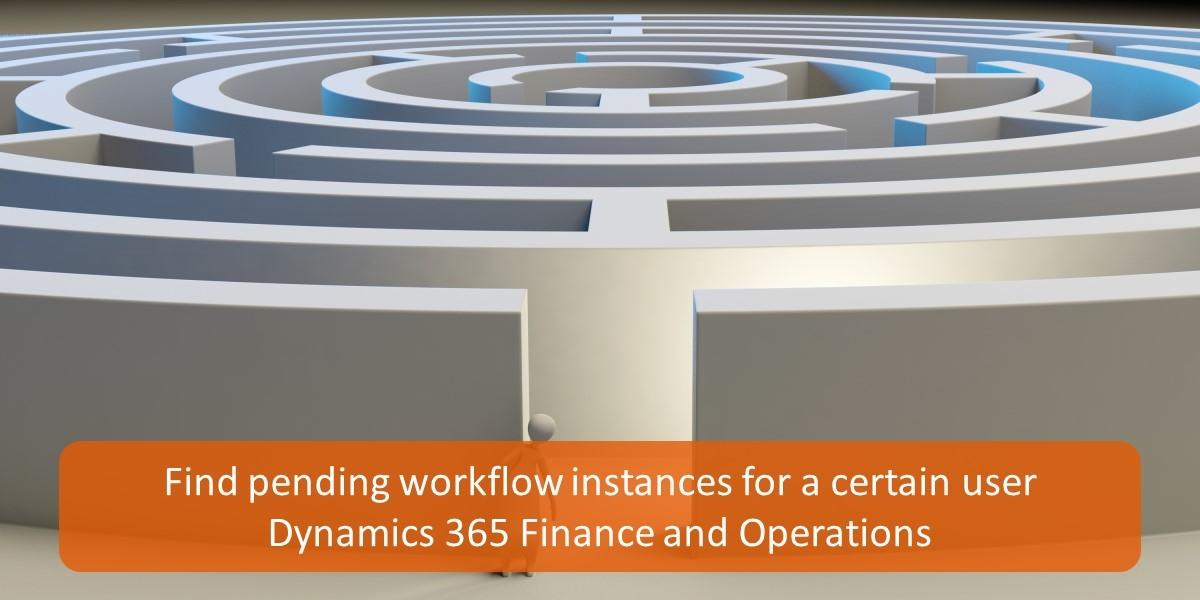 Find pending workflow instances